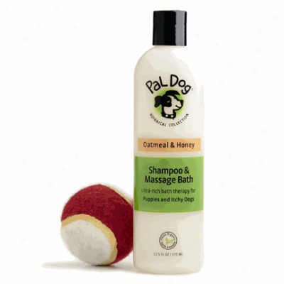 Pal Dog Oatmeal Shampoo & Massage Bath 12.5 zO
